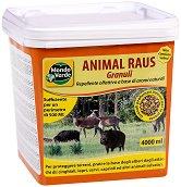 Гранулиран репелент против диви животни - Опаковка от 4 l