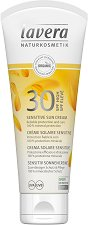 Lavera Sensitive Sun Cream - SPF 30 - Слънцезащитен крем за тяло за чувствителна кожа - балсам