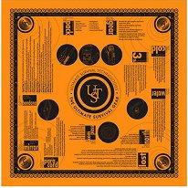 Кърпа за оцеляване - С размер 56 x 56 cm