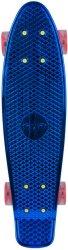 Скейтборд със светещи колела - Mirra 300 - С пластмасова дъска с размери 58 х 15 cm - продукт