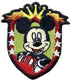 Текстилен самозалепващ се стикер - Мики Маус