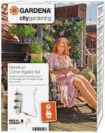 """Комплект за поливане на ъглови цветарници - Nature Up - От серията """"City Gardening"""""""