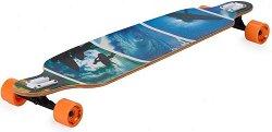 Лонгборд - Surfer Blue - Размер на дъската 105 х 24 cm -