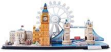 Лондон - 3D пъзел от картон - пъзел