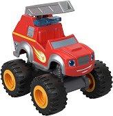 """Пожарната Пламъчко - Метална количка от серията """"Пламъчко и машините"""" -"""