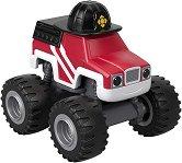 """Пламъчко пожарникар - Метална количка от серията """"Пламъчко и машините"""" -"""