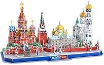 Москва - 3D пъзел от картон -
