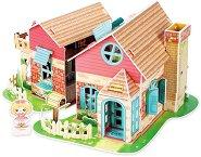 Сладка Вила - 3D пъзел от картон - пъзел