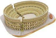 """Колизеумът, Рим - 3D пъзел от колекцията """"National Geografic Kids"""" - пъзел"""