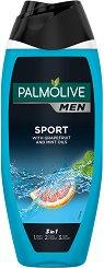Palmolive Men Sport 3 & 1 Body, Face & Hair - Душ гел за тяло, лице и коса за мъже -