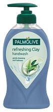 Palmolive Refreshing Clay Eucalyptus Handwash - Течен сапун с глина и екстракт от евкалипт - гел