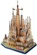 """Саграда Фамилия, Испания - 3D пъзел от серията """"National Geografic Kids"""" -"""