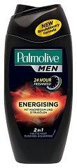 Palmolive Men Energising 2 in 1 Body & Hair - Душ гел и шампоан 2 в 1 за мъже -