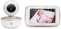 Дигитален видео бебефон - MBP855 Connect - С Wi-Fi, температурен датчик, нощно виждане и обратна връзка - продукт