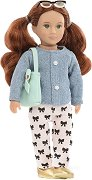 Кукла - Autumn - Комплект с чанта и очила - кукла