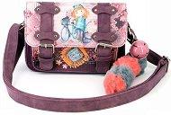 Чанта с катарами - Forever Ninette - В комплект с пухкав ключодържател със звънче -