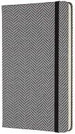 Тефтер с текстилна корица - Blend Black