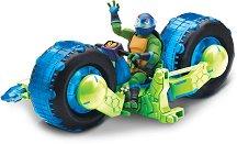 """Леонардо с мотор - Комплект за игра от серията """"Възходът на костенурките нинджа"""" -"""