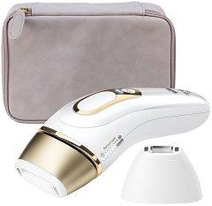 Braun Silk-expert Pro 5 IPL PL5124 - Фотоепилатор в комплект със самобръсначка и чантичка за съхранение -