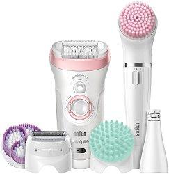 """Braun Silk-epil 9 Beauty Set 9 9/985 BS Wet & Dry - Система за грижа за лице и тяло от серията """"SensoSmart"""" -"""