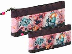 Ученически несесер - Forever Ninette - Комплект от 2 броя - несесер