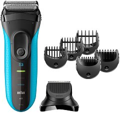 Braun Series 3 Shave & Style 3010BT 3 in 1 - Електрическа самобръсначка за мъже с тример приставка -