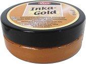 Восъчна паста с металиков ефект - Inka Gold - Бурканче от 62.5 g