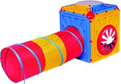 Куб за игра с мек тунел -