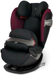 """Детско столче за кола - Pallas S-Fix: Ferrari Victory Black - За """"Isofix"""" система и деца от 9 до 36 kg - продукт"""