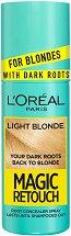 L'Oreal Magic Retouch For Blondes with Dark Roots - Спрей за изрусена коса за прикриване на тъмни корени - спирала