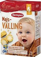 Semper - Млечен царевичен велинг - Опаковка от 725 g за бебета над 6 месеца -