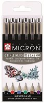 Цветни тънкописци - Pigma Micron 05