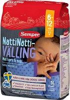 """Semper - Млечен велинг """"Лека нощ"""" с овес и царевица - Опаковка от 725 g за бебета от 6 до 12 месеца -"""