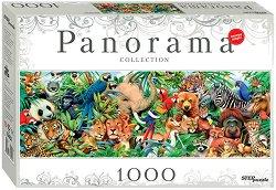 """Светът на животните - Панорамен пъзел - От колекция  """"Panorama"""" - пъзел"""
