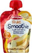 Semper - Смути фрукт ябълка и банан - пюре