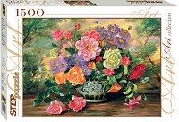 """Цветя във ваза - От колекция """"Art"""" - пъзел"""