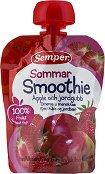 Semper - Смути ябълка и ягода - пюре