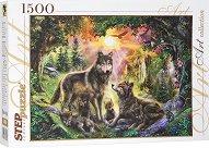 """Семейство вълци - От колекция """"Art"""" -"""