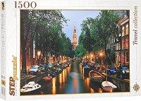 "Амстердам, река Амстел - От колекция ""Travel"" -"
