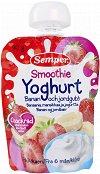 Semper - Смути йогурт, банан и ягода - продукт