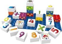 """Математика - Детски образователен конструктор от био пластмаса : От серията """"Learning"""" -"""