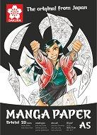 Скицник за рисуване - Manga - Плътност на хартията 250 g/m : 2 :