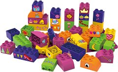 """Приказен свят - Детски конструктор от био пластмаса : От серията """"Learning to Create"""" -"""