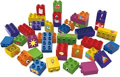 """Моят свят - Детски конструктор от био пластмаса : От серията """"Learning to Build"""" -"""