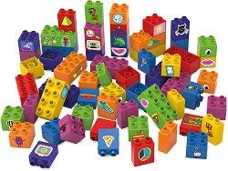 """Въображаем свят - Детски конструктор от био пластмаса : От серията """"Learning to Build"""" -"""