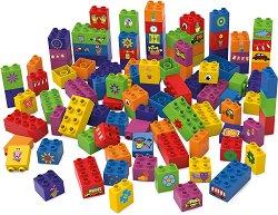 """Предмети и животни - Детски конструктор от био пластмаса : От серията """"Learning to Build"""" - играчка"""