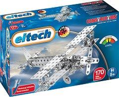 "Самолет - 2 в 1 - Детски метален конструктор от серията ""Eitech: Junior"" -"