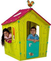 Детска сглобяема къща за игра - Magic - Размери 110 / 146 / 110 cm - играчка