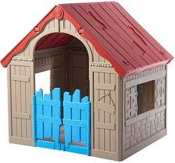 Детска сгъваема къща за игра - Wonderfold - Размери 89.7 / 110.6 / 101.8 cm - играчка