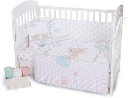 """Спален комплект за бебешко креватче - От серията """"Fantasia"""" -"""